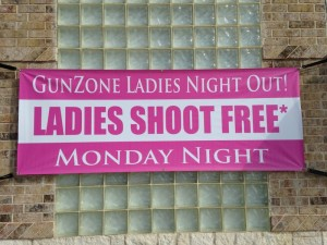 Ladies Shoot Free